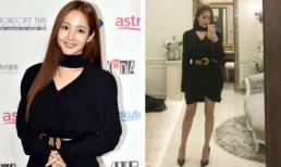 """""""Thư ký Kim"""" Park Min Young khoe chân thon dài trong set đồ gần 70 triệu đồng"""