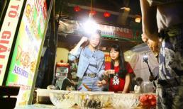 Hồ Ngọc Hà vui nhộn đi bán chè ở giữa phố Hạ Long