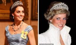 Đội vương miện của mẹ chồng đi dự sự kiện, Công nương Kate Middleton siêu mảnh mai trong bộ đầm đuôi cá