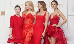 Sở hữu chiều cao khiêm tốn, Lưu Thi Thi vẫn đẹp đến nỗi khiến vợ cũ Tom Cruise không ngừng 'liếc trộm'