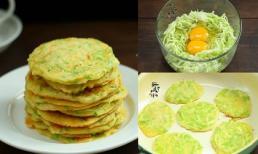 Món trứng rán bí ngòi ngon bổ lại còn tiết kiệm cho bữa sáng