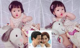 Hoa hậu Đặng Thu Thảo cho con gái 'sống ảo' khi lần đầu gọi được từ 'Ba'