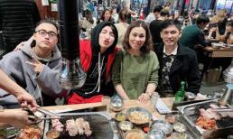 Sơn Tùng M-TP đưa cả gia đình đi du lịch Hàn Quốc
