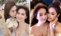 Loạt sao Việt đến dự đám cưới của chị gái Ngọc Trinh