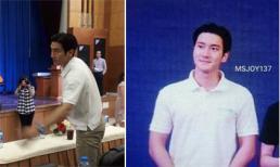 Choi Siwon (Super Junior) mặc đồ giản dị nhưng vô cùng điển trai khi có mặt Việt Nam