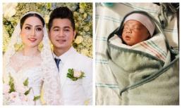 Ca sĩ Lâm Vũ hạnh phúc đón con gái đầu lòng tại Mỹ