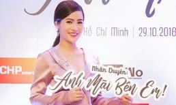 Á hậu Ngô Thu Phương hội ngộ dàn sao tại họp báo ra mắt phim của MC Quỳnh Chi