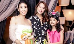 Dàn sao đình đám đến mừng sinh nhật con gái Hoa hậu Hà Kiều Anh tròn 3 tuổi
