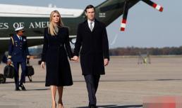 Nhan sắc đẹp xuất thần của ái nữ nhà Tổng thống Trump - Ivanka khi sánh vai bên chồng