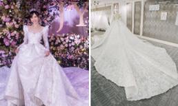 Những tiết lộ đặc biệt về chiếc váy cưới như công chúa tốn 5.000 giờ thực hiện của Đường Yên