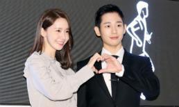 """Bỏ mặc """"chị đẹp"""" Son Ye Jin, Jung Hae In sánh đôi bên Yoona (SNSD) khiến fan bấn loạn"""