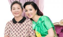 Mẹ trẻ trung của Hoa hậu Đền Hùng Giáng My lần đầu tiên được 'lên sóng'