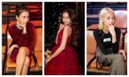 Trương Thị May, Lệ Hằng, Ngọc Châu, Phí Phương Anh đồng loạt để mặt mộc dự buổi tổng duyệt show thời trang