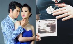 Siêu mẫu từng hủy hôn với Trương Nam Thành bất ngờ đăng ảnh đang mang bầu