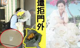 Người hâm mộ đặt hoa và châm thuốc lá trước cửa nhà Lam Khiết Anh để tưởng nhớ nữ diễn viên quá cố