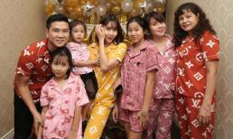 Cả gia đình diện đồ ngủ, bí mật tổ chức sinh nhật cho ca sĩ Lưu Hương Giang