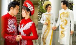 'Rụng tim' với loạt ảnh cưới của cặp đôi Hương và Tường trong 'Gạo nếp gạo tẻ'