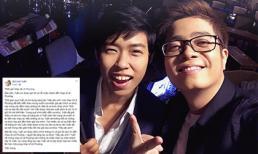 Bùi Anh Tuấn lên tiếng xin lỗi sau khi bị tố hát nhạc không xin phép