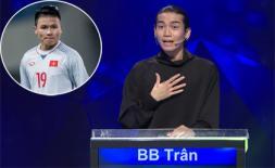 BB Trần công khai yêu tiền vệ Nguyễn Quang Hải ngay trên sóng truyền hình
