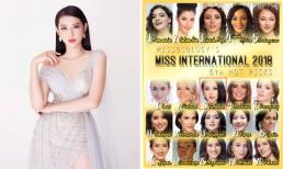 Thùy Tiên được dự đoán sẽ lọt vào top 10 Hoa hậu Quốc tế 2018