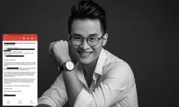 Một cầu thủ đội tuyển quốc gia viết mail xin book vé show Hà Anh Tuấn cực đáng yêu