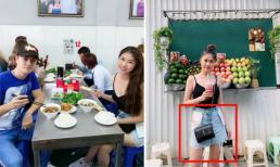 Thấy vợ Đăng Khôi khoe ảnh ở Hà Nội, fan hốt hoảng: 'Chị mặc váy trái kìa'