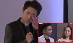 Tình yêu sóng gió của Khánh Thi - Phan Hiển khiến Trấn Thành xúc động rơi nước mắt
