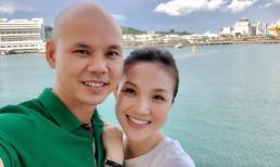 Vợ chồng Phan Đinh Tùng - Thái Ngọc Bích du lịch Singapore