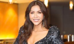 Minh Tú khoe vòng 1 nóng bỏng trong váy cắt xẻ trước ngày dự thi Miss Supranational
