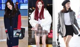 Ngắm thời trang sân bay của sao Hàn cũng học được bao kiểu mix đồ cực sành điệu ngày lạnh