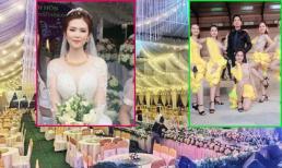 Lộ diện cô dâu xinh như hotgirl trong đám cưới dựng rạp gần 1 tỉ ở Vĩnh Phúc, có cả Ngọc Sơn hát