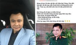 Tới lượt nghệ sĩ Tự Long bị kẻ xấu lợi dụng hình ảnh để lừa đảo trên mạng xã hội