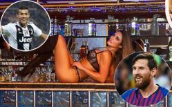 Siêu mẫu từng qua đêm với CR7 và Messi lại tung ảnh hút hồn đấng mày râu
