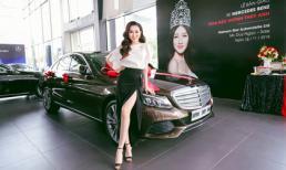 Hoa hậu Huỳnh Thúy Anh tậu xe Mercedes Benz tiền tỷ