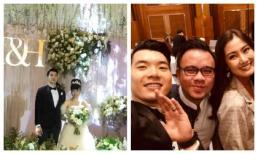 Cuối cùng cũng lộ những hình ảnh hiếm hoi trong đám cưới Trương Nam Thành và vợ đại gia