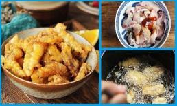 Công thức cá chiên giòn lạ miệng, ăn 1 lần là nghiện