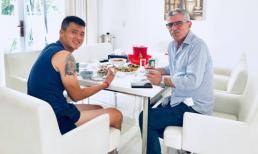 Công Vinh mời HLV cùng vô địch AFF Cup 10 năm trước đến nhà ăn cơm