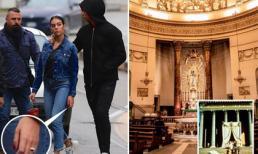 C. Ronaldo và bạn gái đi chọn nhà thờ để tính chuyện trăm năm