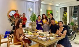 Sao Việt đến dự tiệc tân gia của người mẫu Lê Trung Cương