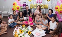 Trương Ngọc Ánh và chồng cũ cùng tổ chức sinh nhật 10 tuổi cho con gái