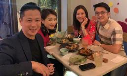 Hoa hậu Thu Hoài ăn tối cùng vợ chồng 'ngôi sao TVB' Hồ Hạnh Nhi