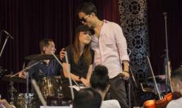 Mỹ Tâm để mặt mộc tình tứ trong buổi tập cùng Hà Anh Tuấn