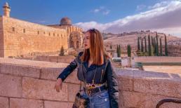 Minh Hằng khoe street style cực 'chất', thả dáng sành điệu ở Israel