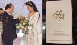 Hé lộ yêu cầu dành cho khách mời tham dự đám cưới của ca sĩ Đinh Hiền Anh và chồng vào tháng 12/2018