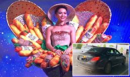 Máy bay hủy chuyến do mưa bão, H'Hen Niê phải đi ô tô 360km để về Đắk Lắk