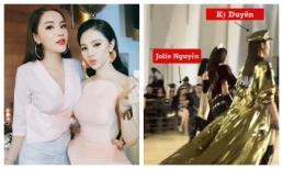 Không còn là 'chị em cây khế', Kỳ Duyên và Jolie Nguyễn phản ứng thế nào khi gặp lại nhau?