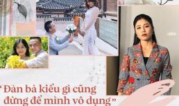 Sau tất cả những ồn ào thì MC Hoàng Linh đã nói chí lí về hạnh phúc của đàn bà: Trước nhất là 'đừng để mình vô dụng'