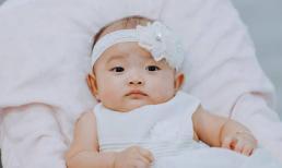 Con gái Khánh Thi đáng yêu như công chúa nhỏ