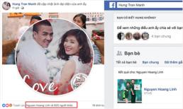 Sau ồn ào rạn nứt, MC Hoàng Linh đã kết bạn facebook lại với chồng và like ảnh đại diện mới