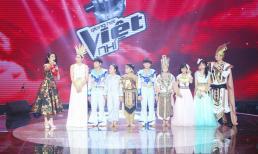 Giọng hát Việt nhí 2018: Hồ Hoài Anh - Lưu Hương Giang vượt mặt 'đàn em' bảo toàn được thí sinh sau vòng Mini Show